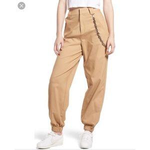 I am Gia I.AM.Gia Cobain pants tan small cargo